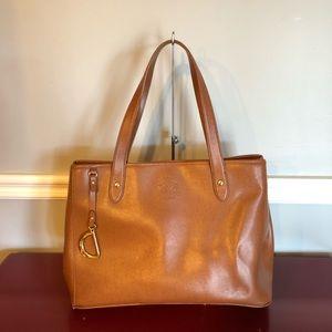 Lauren Ralph Lauren Leather Handbag
